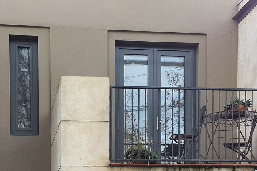 Wood-Alu - Doors - French